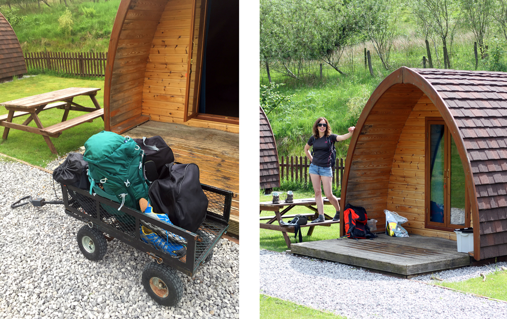 Camping and Caravanning Club Pods Trolley