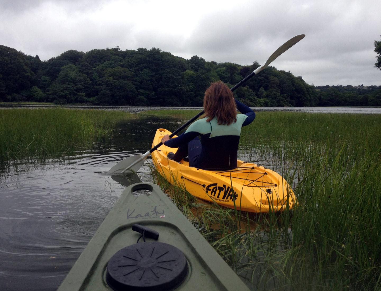 River Kayaking In Cornwall
