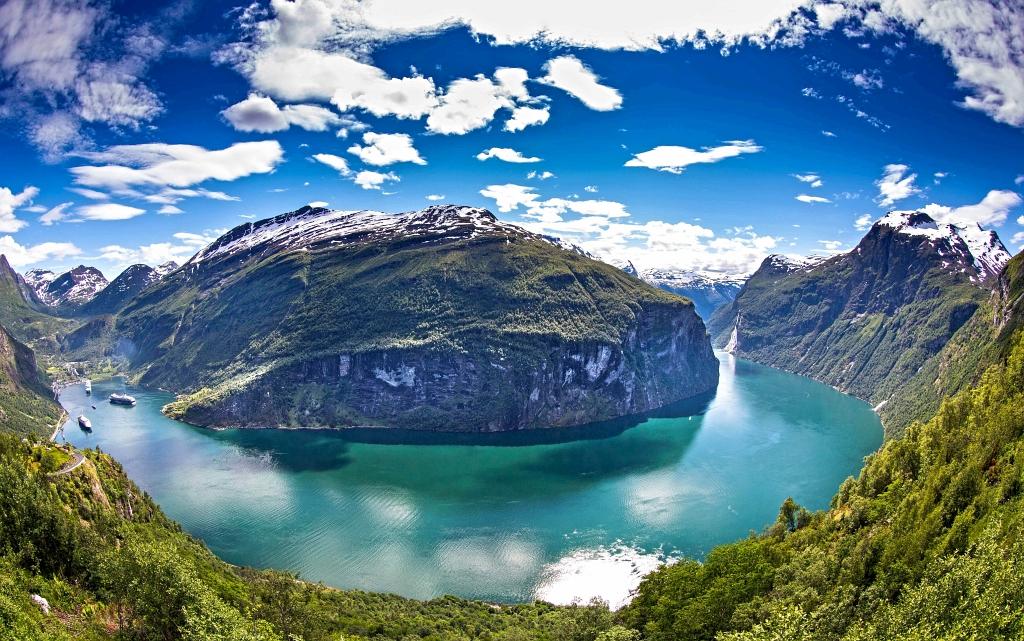 Gerirangerfjord Fjord Norway