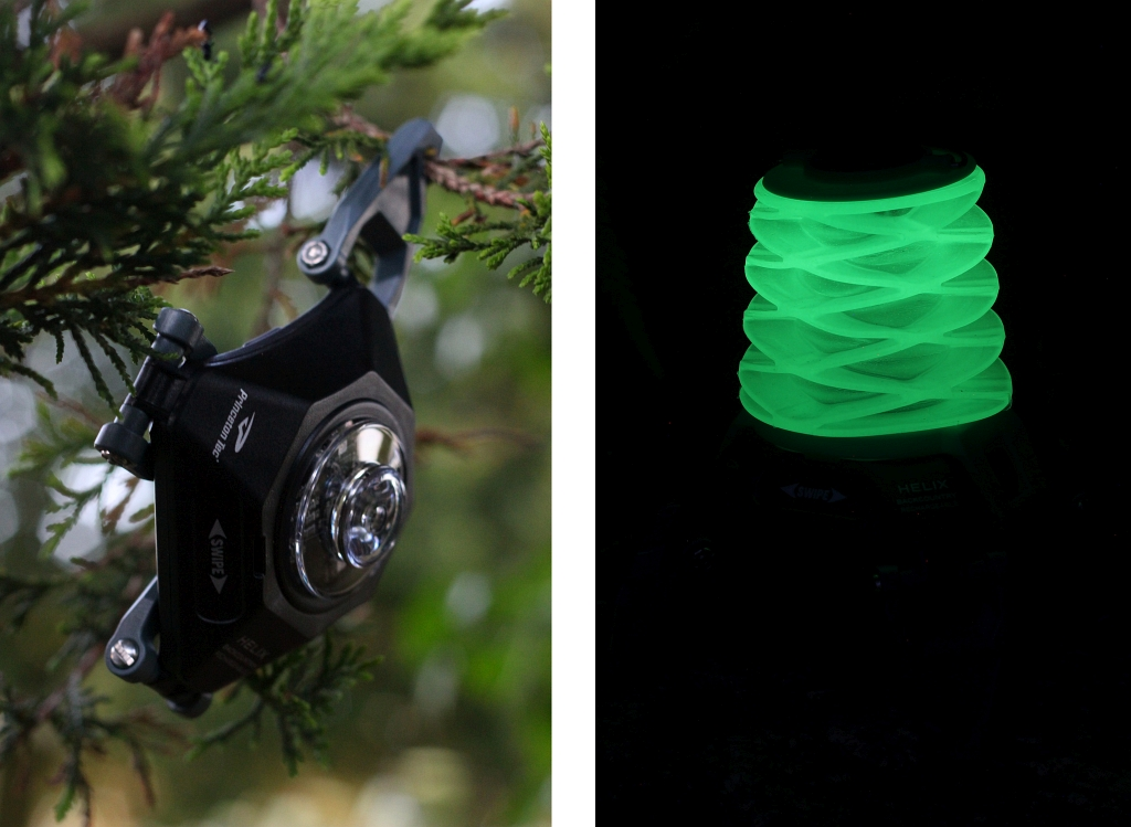 HELIX BACKCOUNTRY RECHARGEABLE LANTERN Spotlight