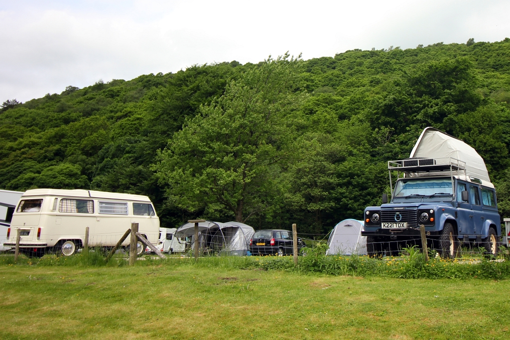 Hayfield Camping and Caravanning Club Pods