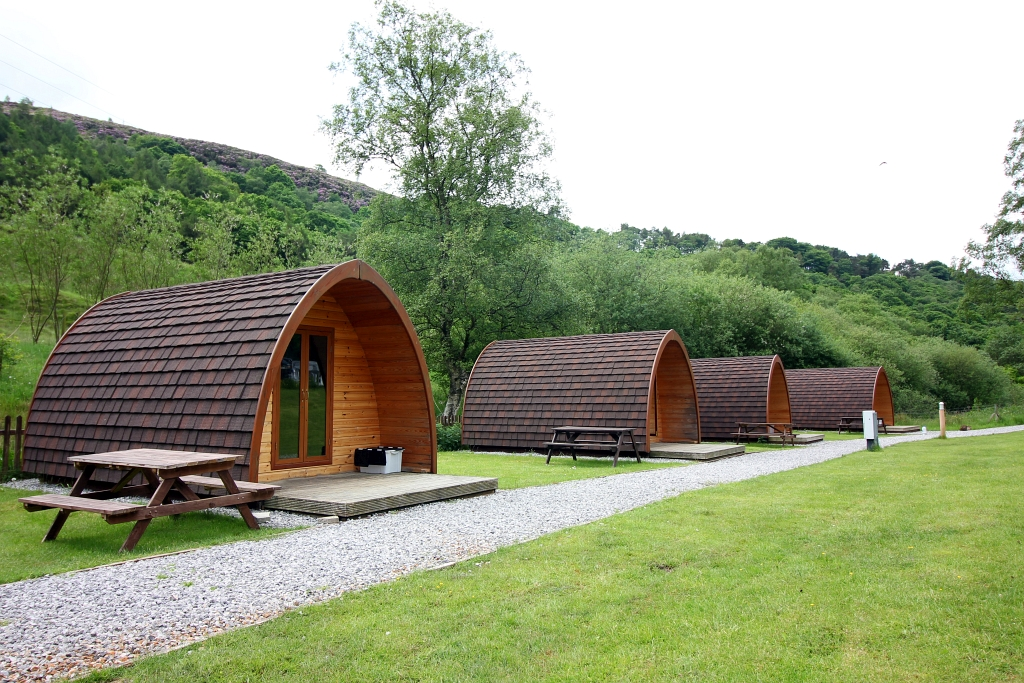 Hayfield Pods Camping and Caravanning Club