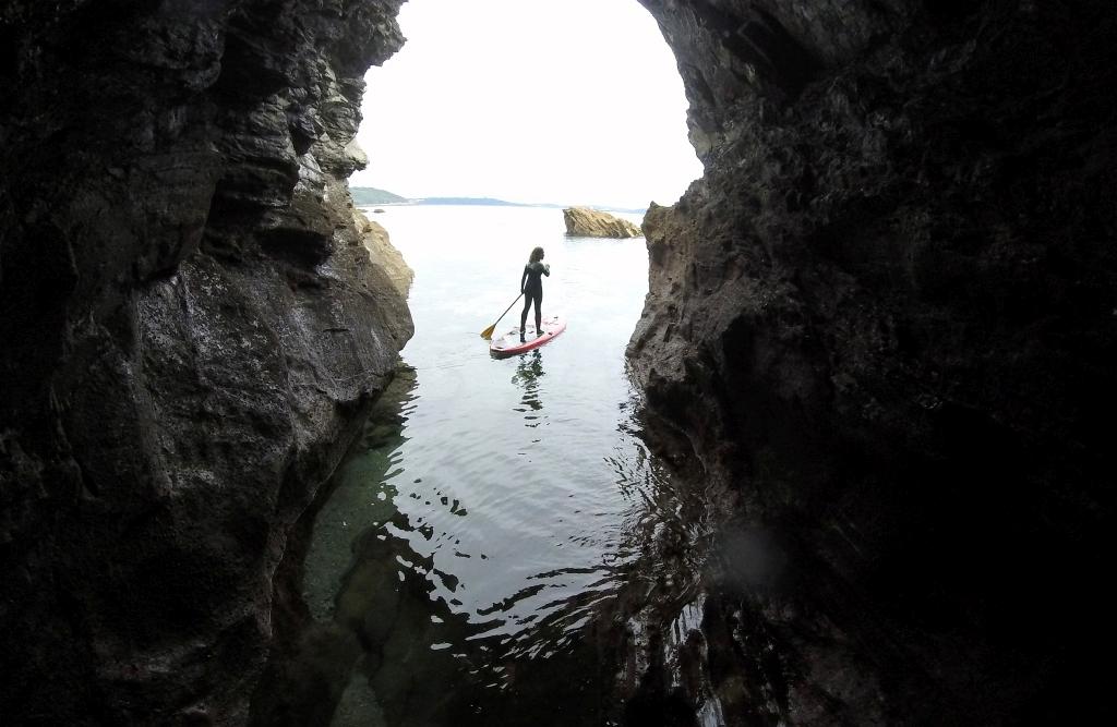 Fatyak Samos SUP Falmouth Cave