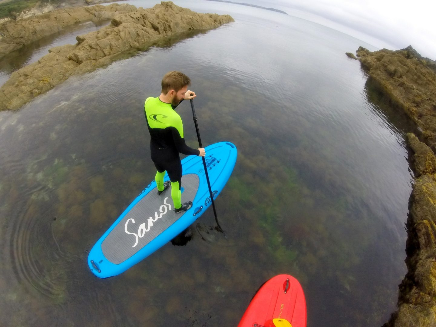 Stand Up Paddle Boarding On The Cornish Coast