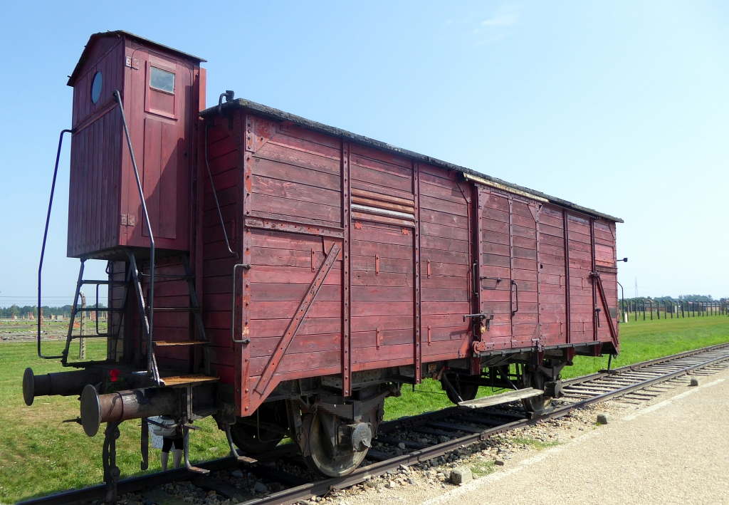 Auschwitz Train Carriage