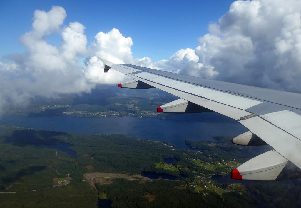 Bergen Airplane