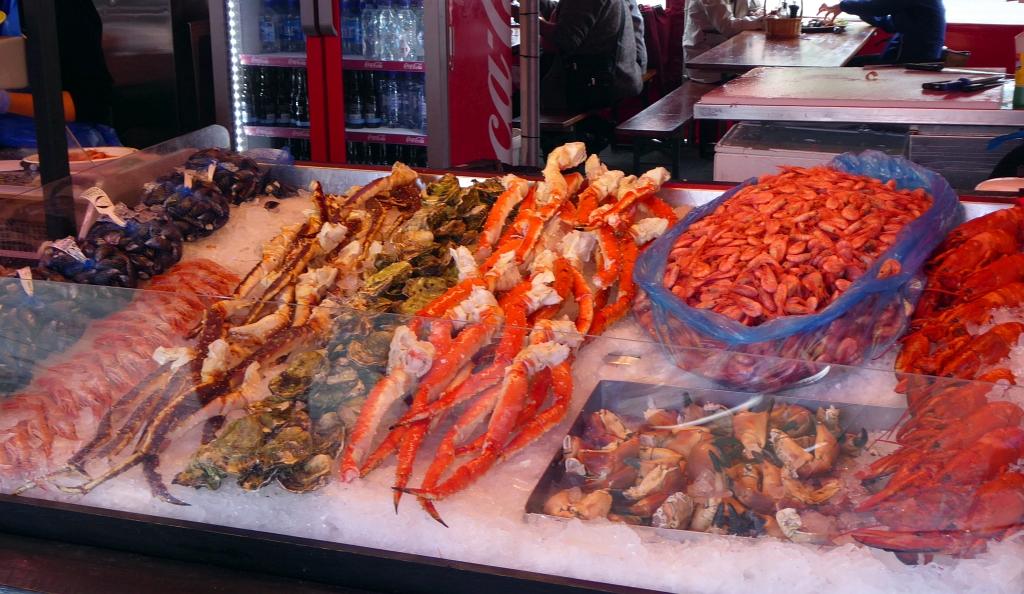 Bergen Fish Market Street