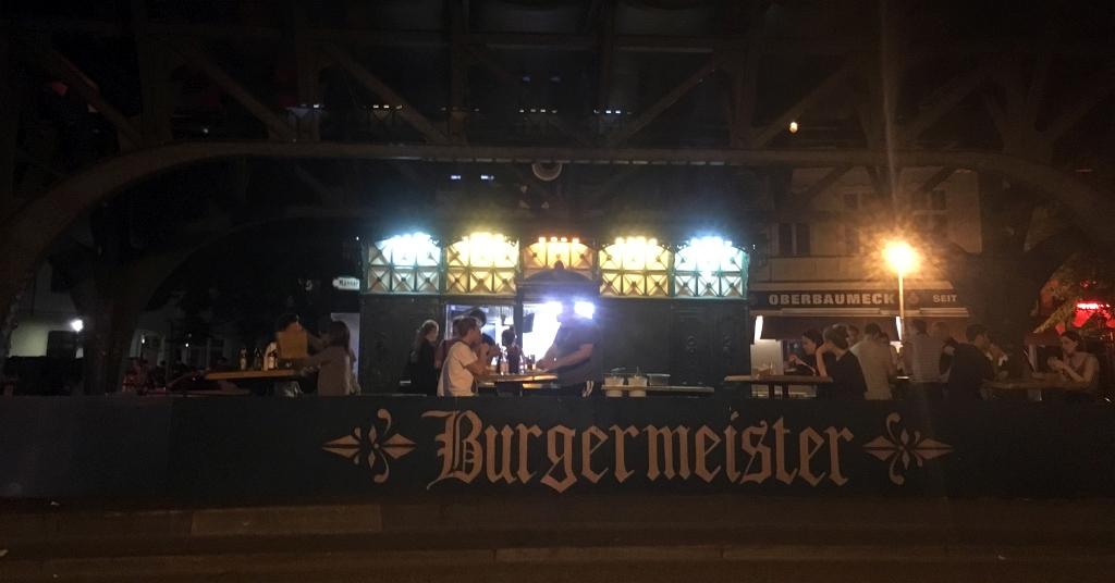 Berlin Burgermeister Burgers