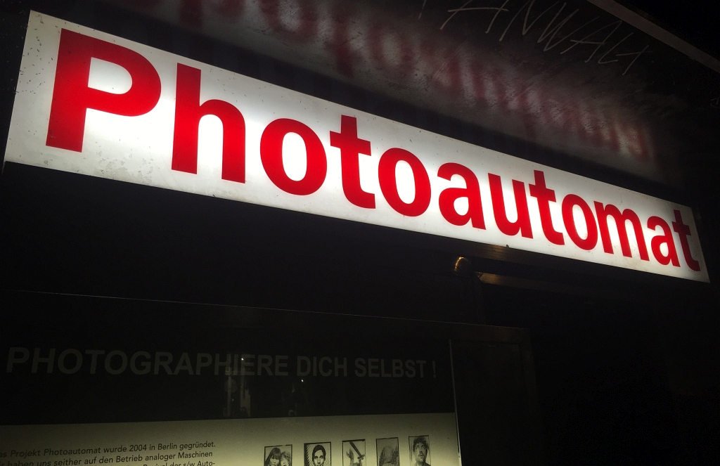 Berlin Photoautomat Machine