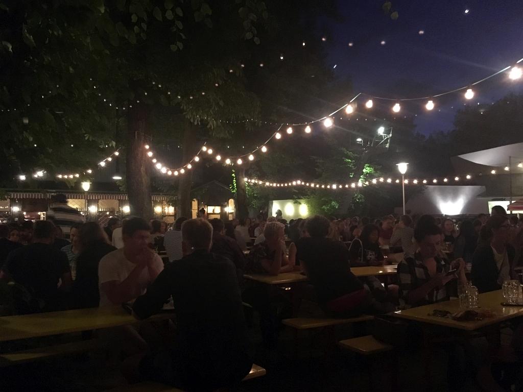 Berlin Prater Beer Garden