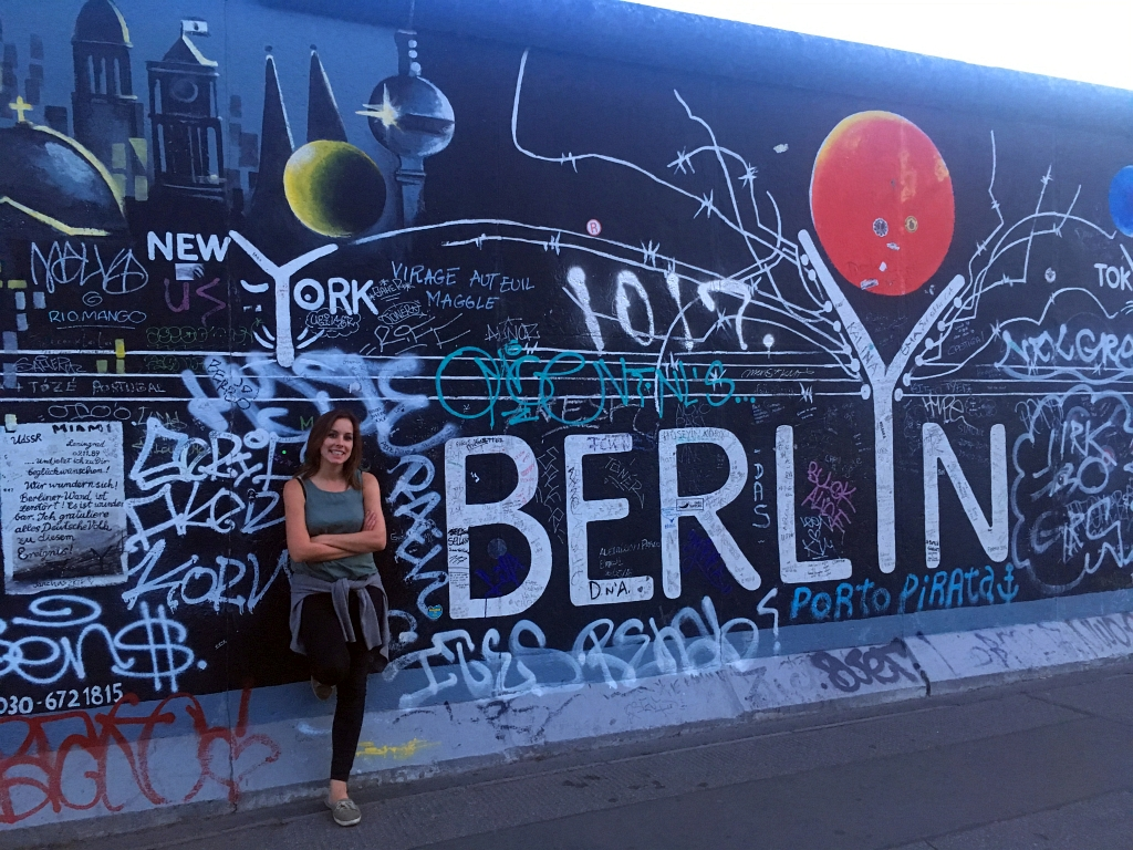 Berlin Wall Pose