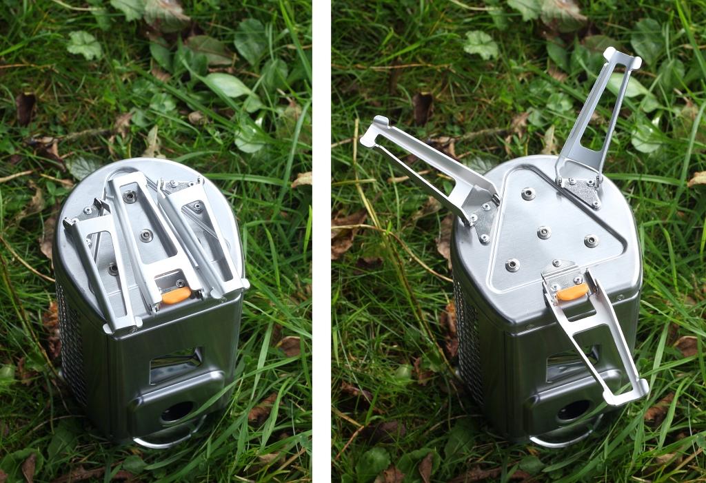 BioLite Campstove 2 Aluminium Legs