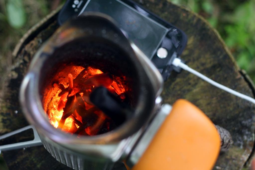 BioLite Campstove 2 Flame Embers