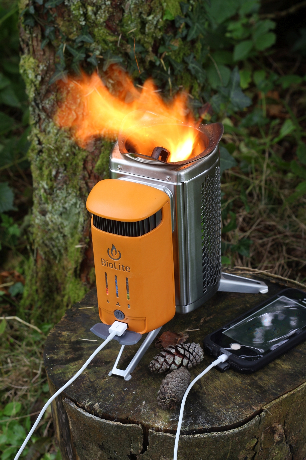 BioLite Campstove 2 Flame Fire Charge USB