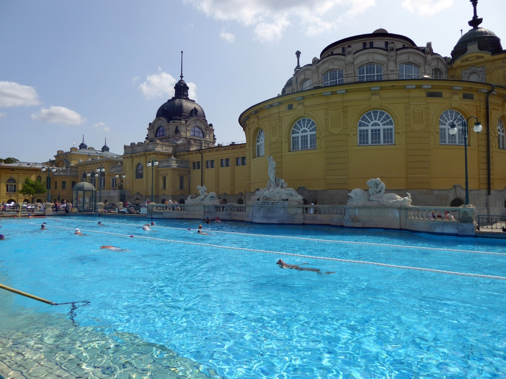 Budapest Baths Swimming