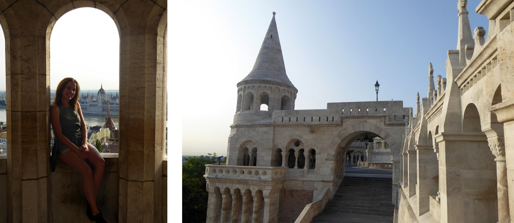 Budapest Fishermans Bastian With View