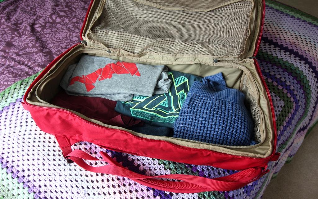 Fjallraven Splitpack Inside Open