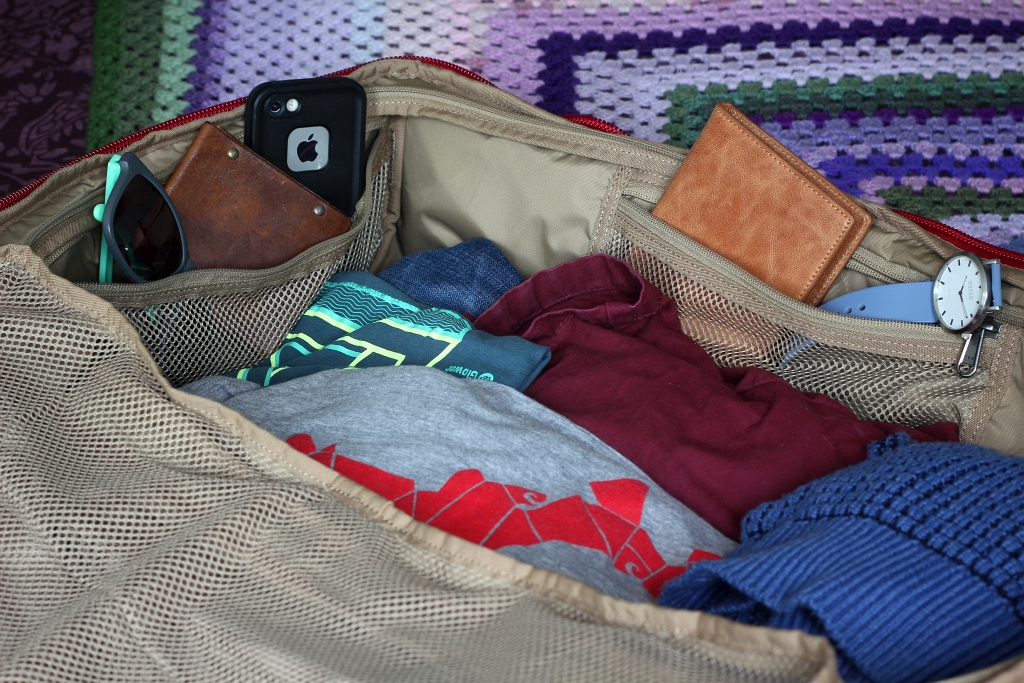Fjallraven Splitpack Inside Pockets Review
