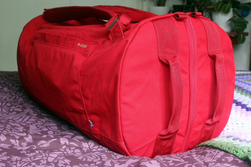 Fjallraven Splitpack Travel Packed