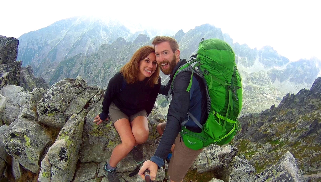 High Tatras Mountain Top Selfie