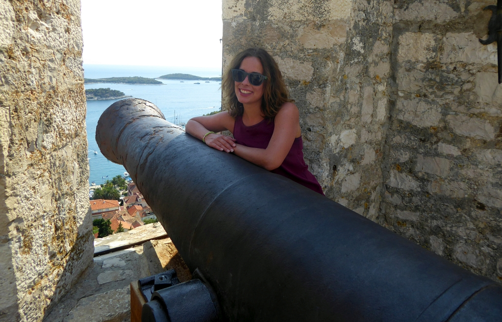 Hvar Fort View Cannon