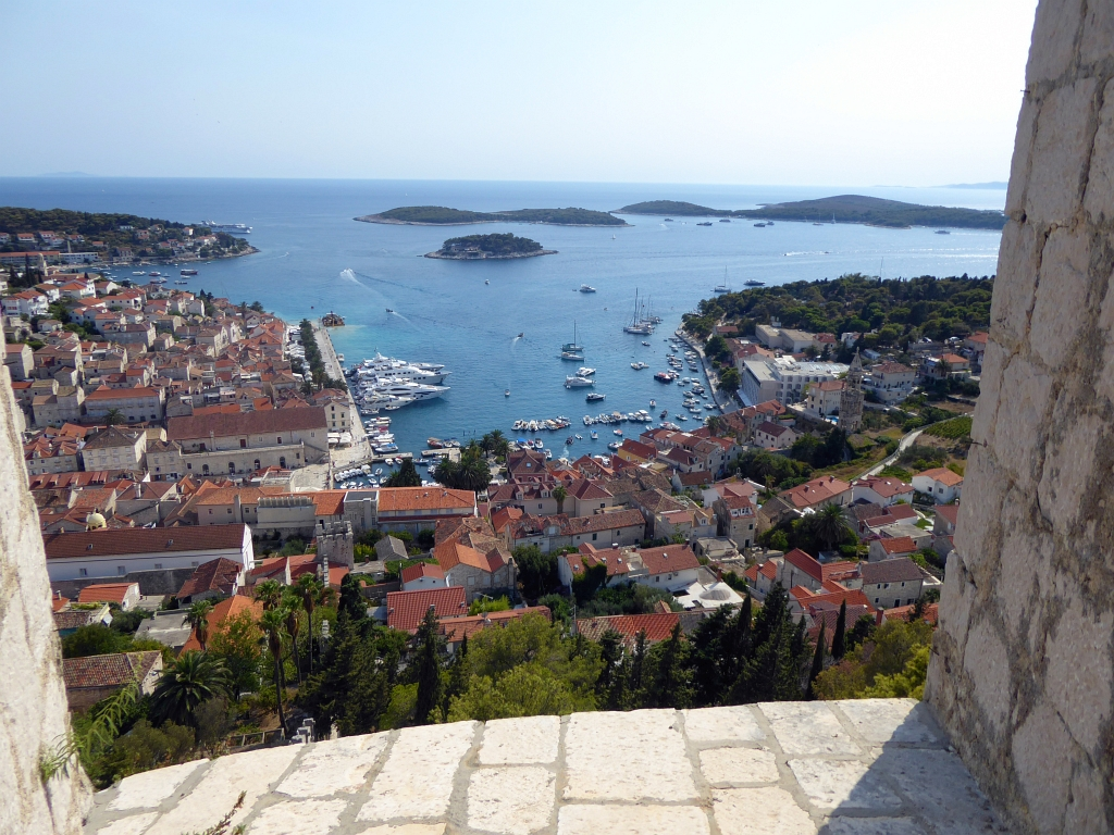 Hvar View From Fort