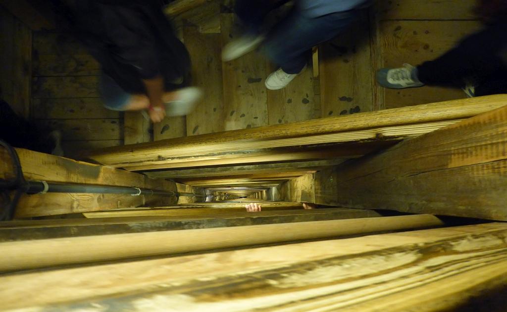 Krakow Salt Mine Stairs
