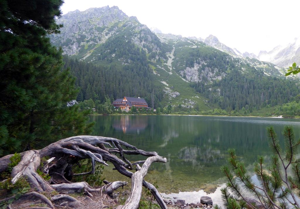 Popradské Pleso Horský Hotel lake view
