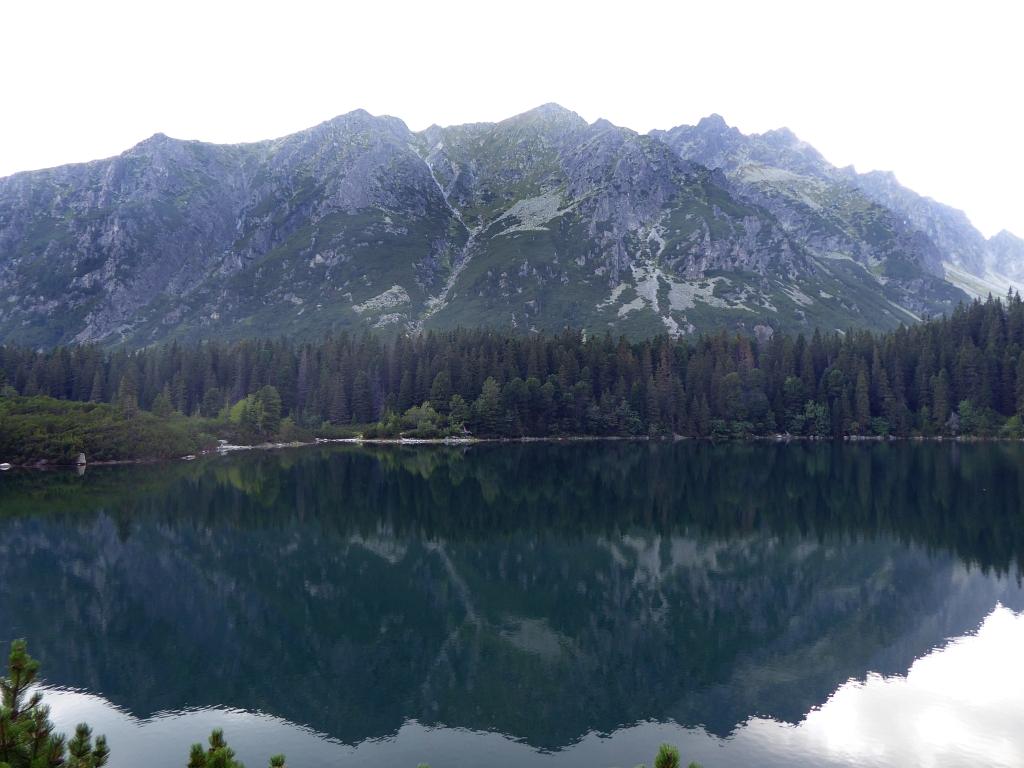 Popradské Pleso Horský Hotel view lake