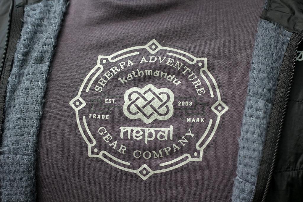 Sherpa Tee T Shirt Logo