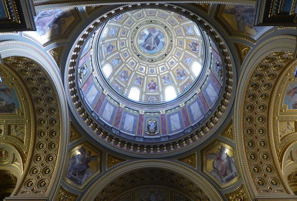 St Stephens Budapest Inside