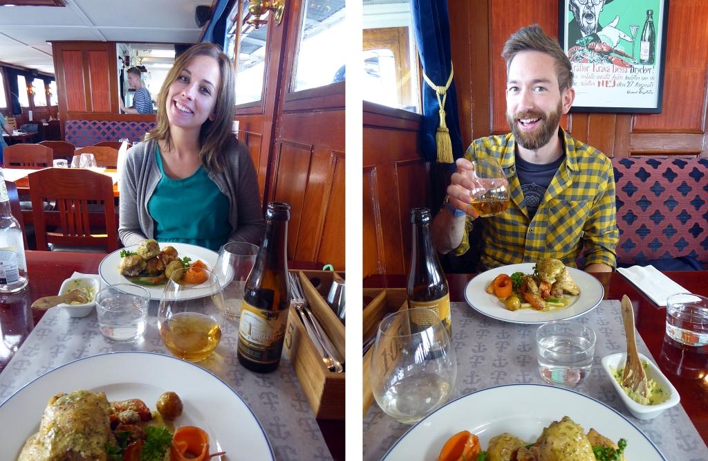 Stockholm Boat Trip Food Meal