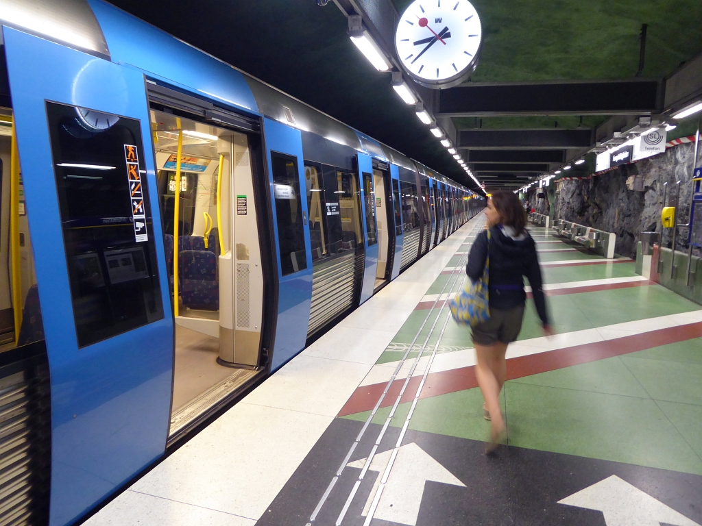 Stockholm Underground Metro Art