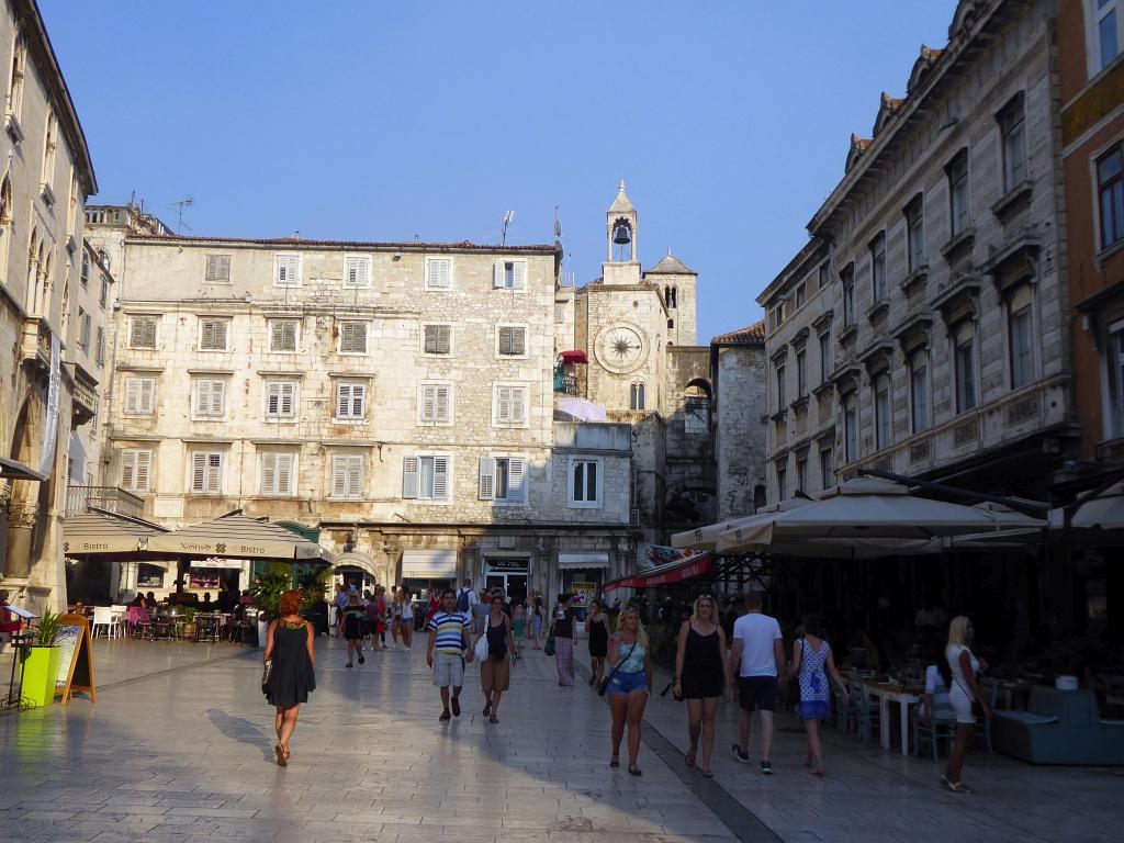 Town Diocletian Palace Split Croatia