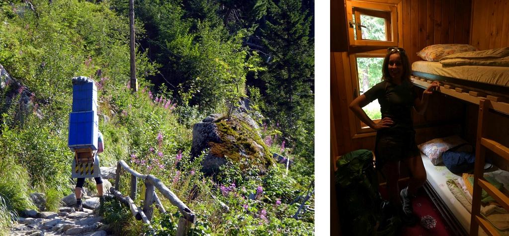 Zamkovskeho chata hut room