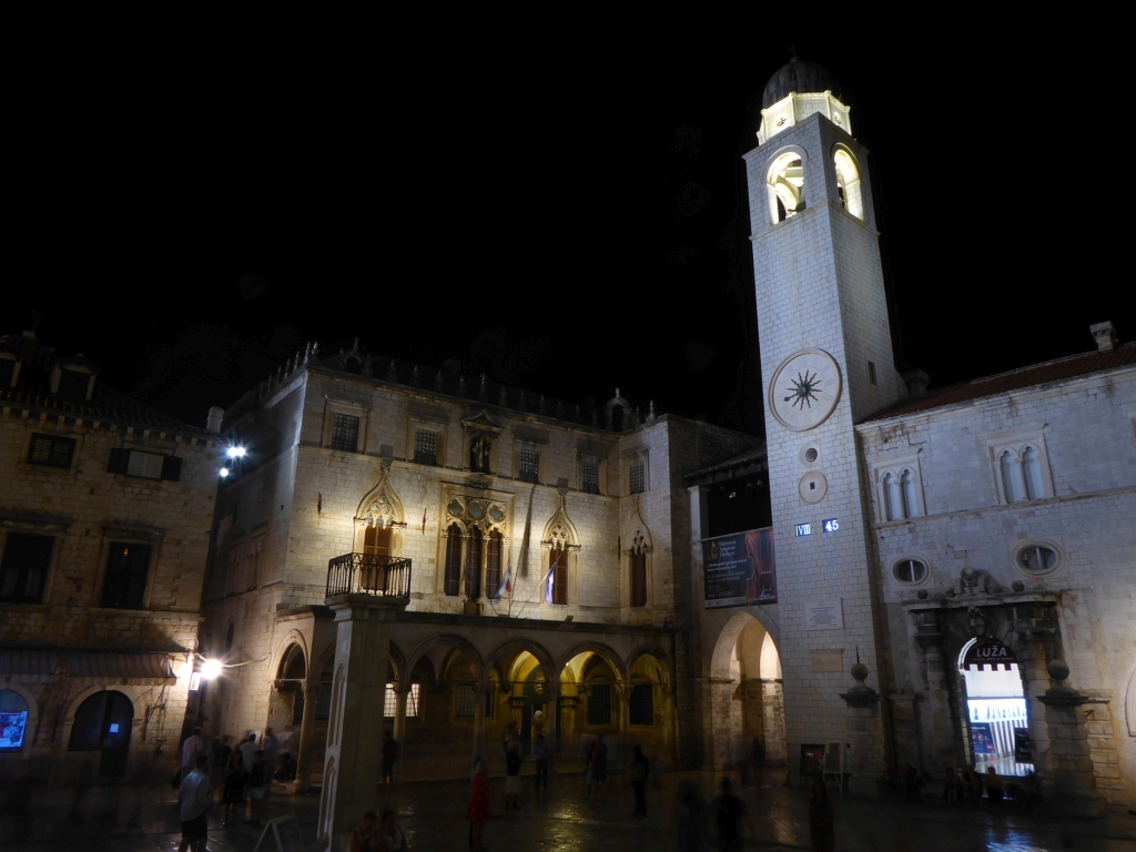 Dubrovnik City Night