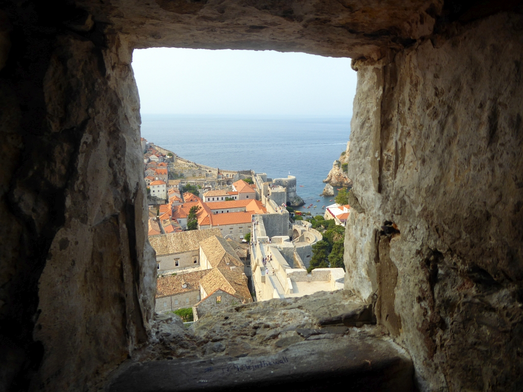 Dubrovnik City Walls View