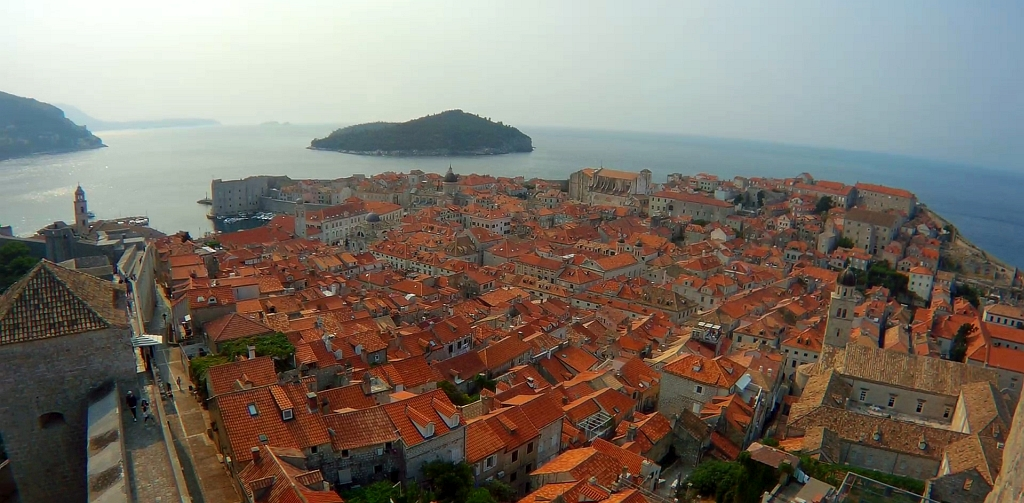Dubrovnik Lokrum City Walls