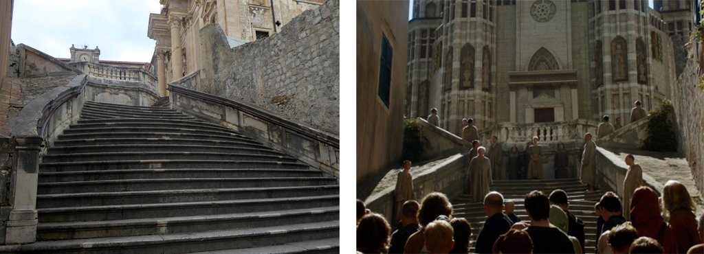 Dubrovnik Stairs Walk of Shame Screen Shot