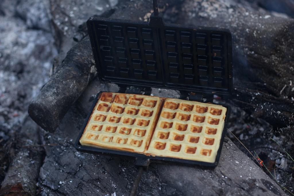 Petromax Fire Waffle Iron Camping