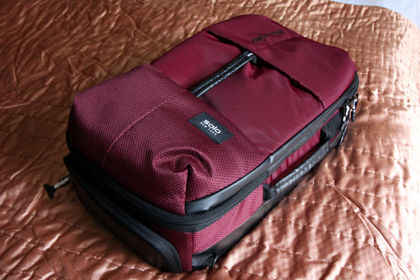 Solo New York All-Star Backpack Duffel Review