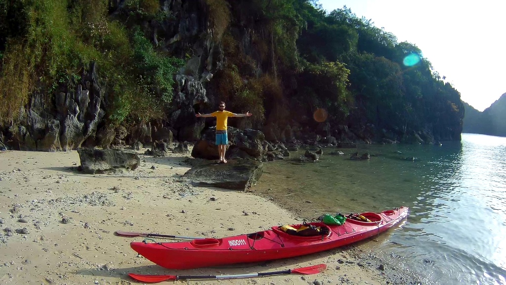 Halong Bay Beach Kayak