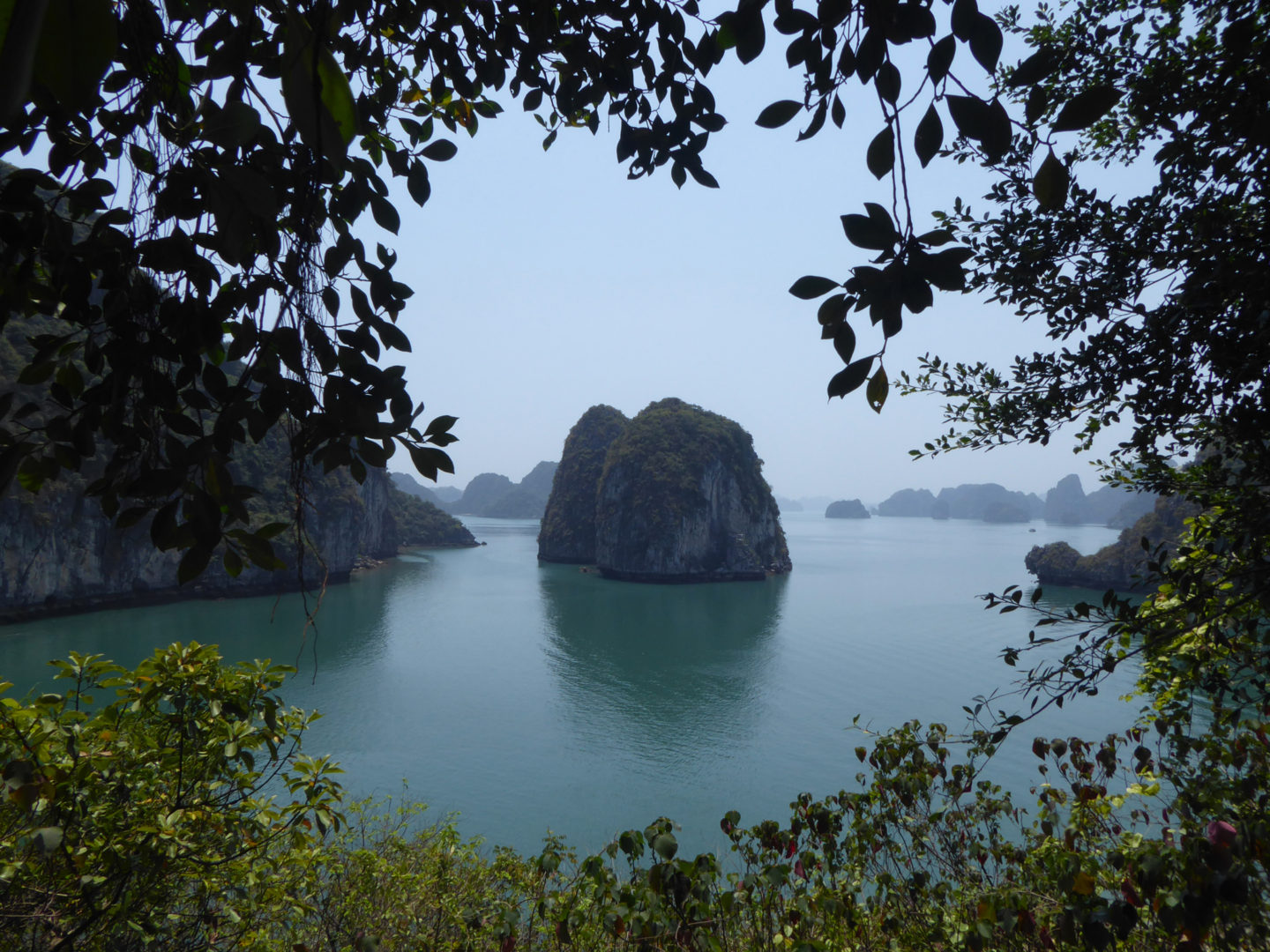 Visiting Halong Bay and Bai Tu Long Bay, Vietnam