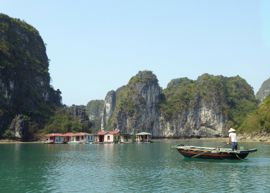 Halong Floating Village