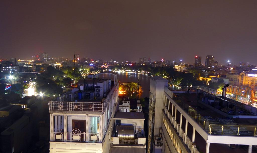 Hanoi Lake Night