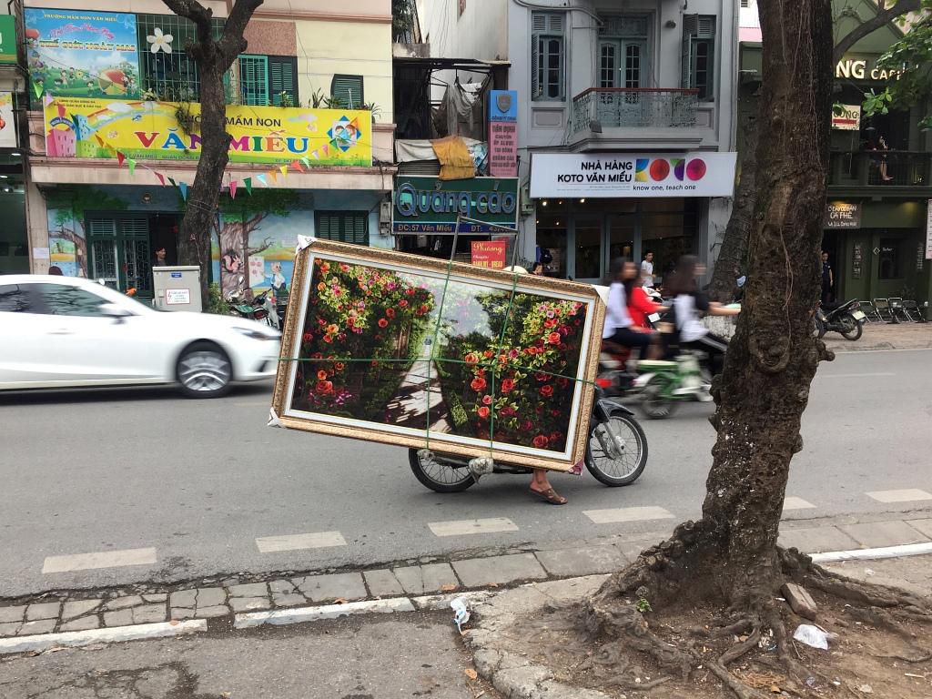 Hanoi Motorbike Painting