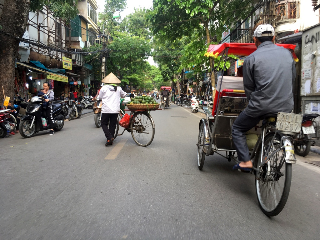 Hanoi Street Cyclo