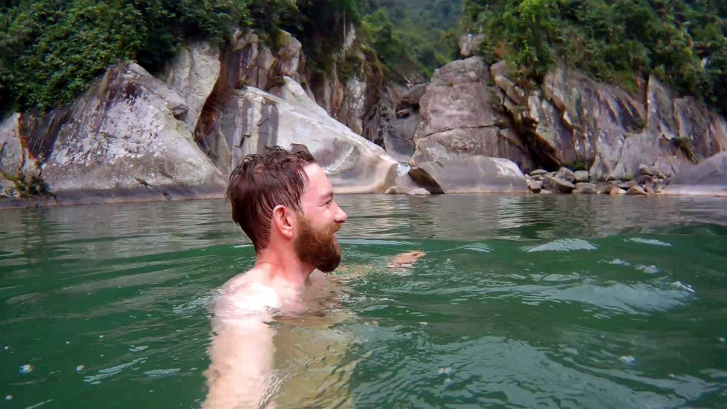 Sapa Swim River