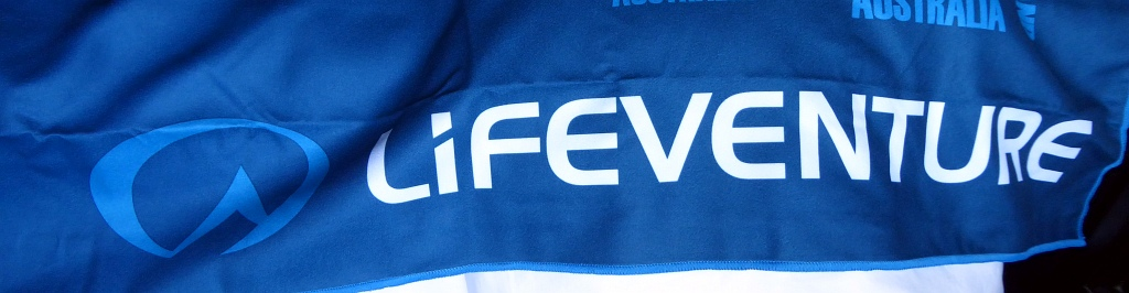 Lifeventure Towel Logo