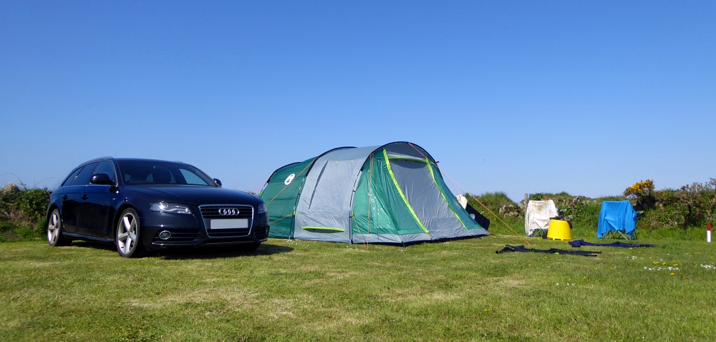 The Camping and Caravanning Club Pitch Sennen